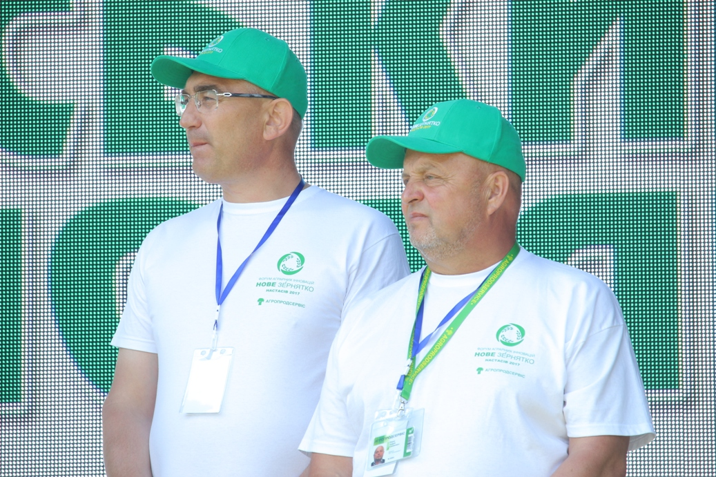 Іван Чайківський (ліворуч) та Андрій Баран
