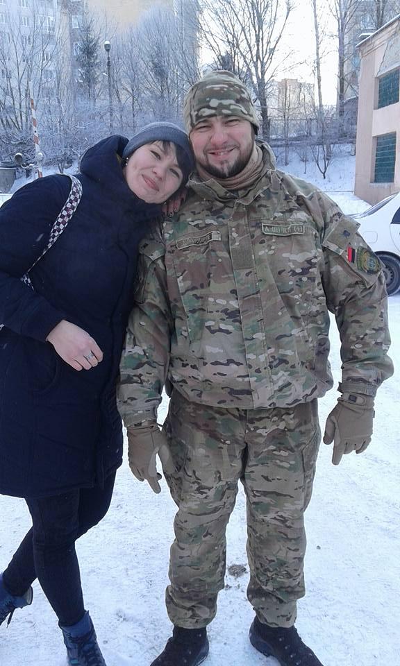 Роман Мельник з сестрою