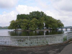 Тернопіль озеро Острів закоханих