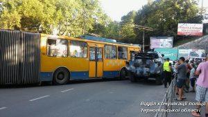 дтп Тернопіль тролейбус