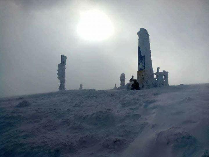 Говерла сніг