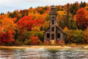 Старий маяк, Мічиган