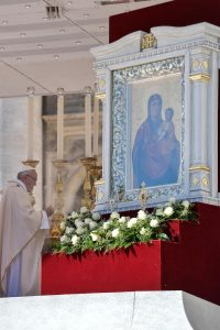 ікона Зарваниця Ватикан
