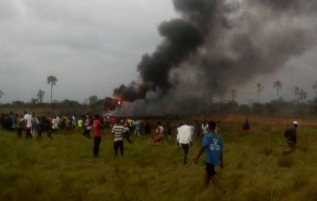 Конго літак падіння