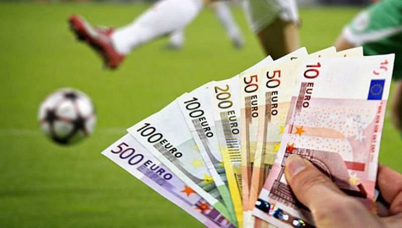 футбол гроші