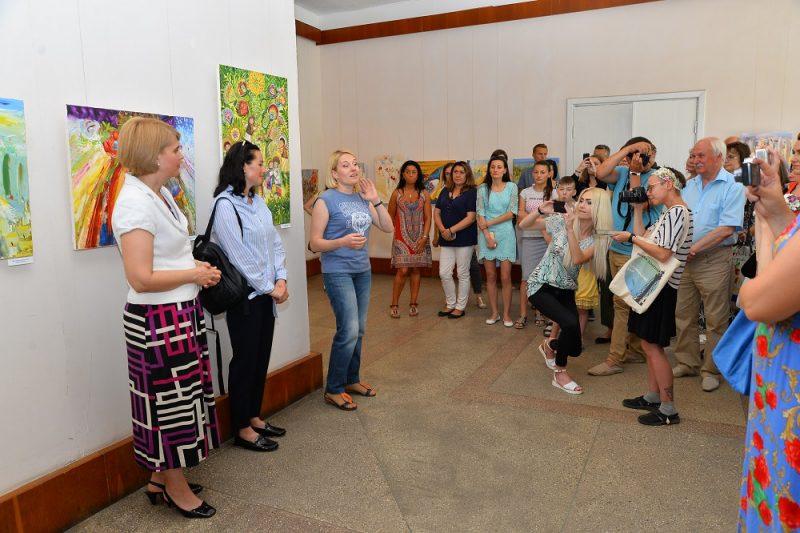Олеся Гудима, виставка
