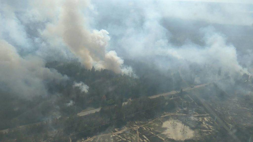 чорнобиль ліс пожежа