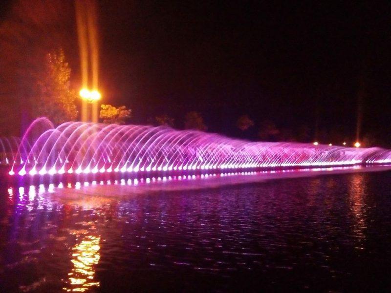 Тернопіль, фонтани