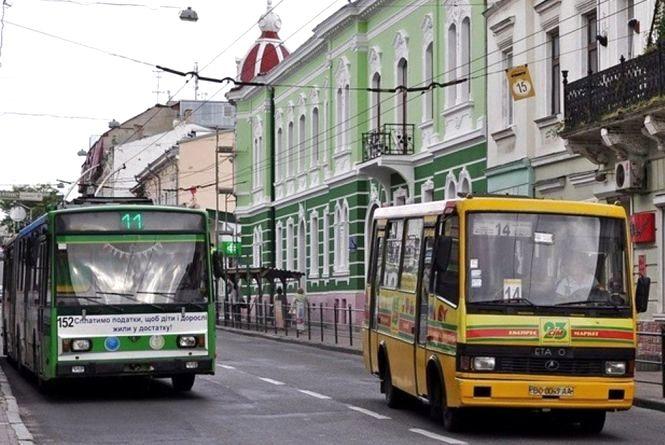 громадський транспорт Тернополя