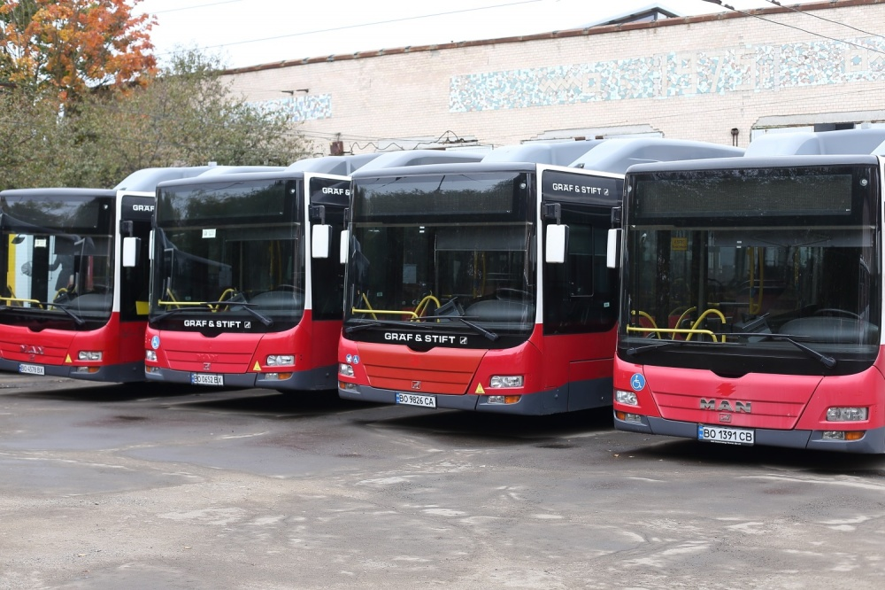 автобуси, Тернопіль