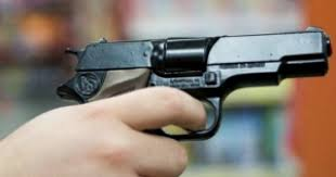 пістолет, постріл