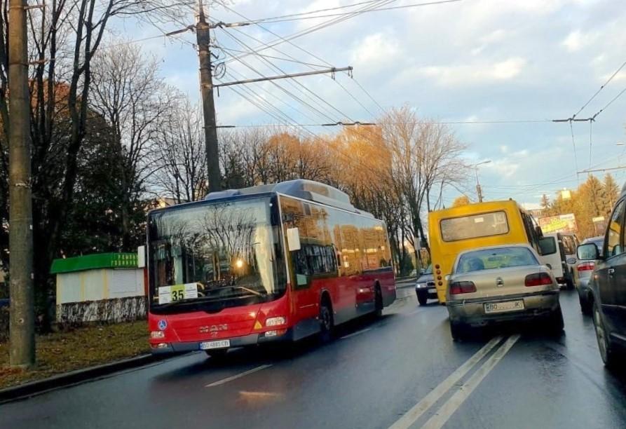 автобус у Тернополі
