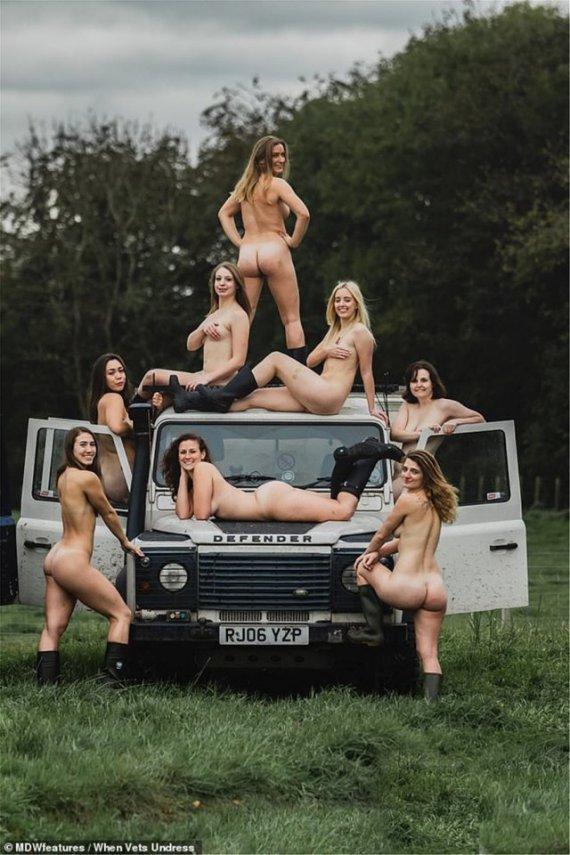 голі студентки