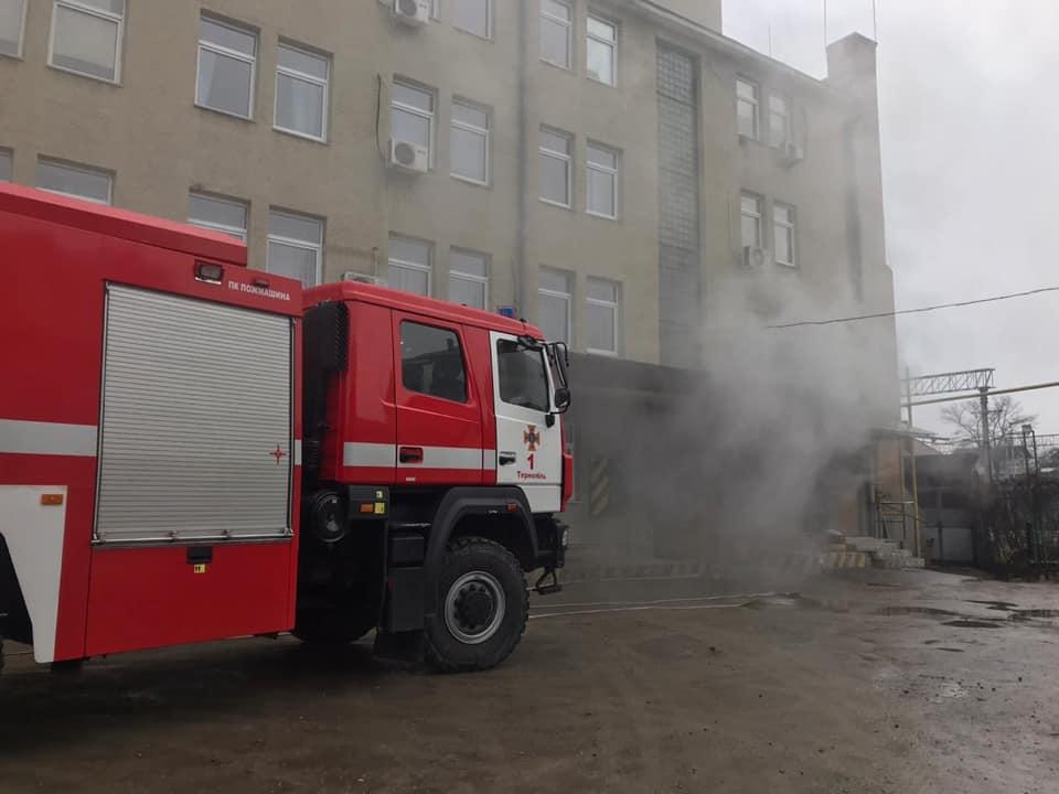 пожежа, Тернопіль