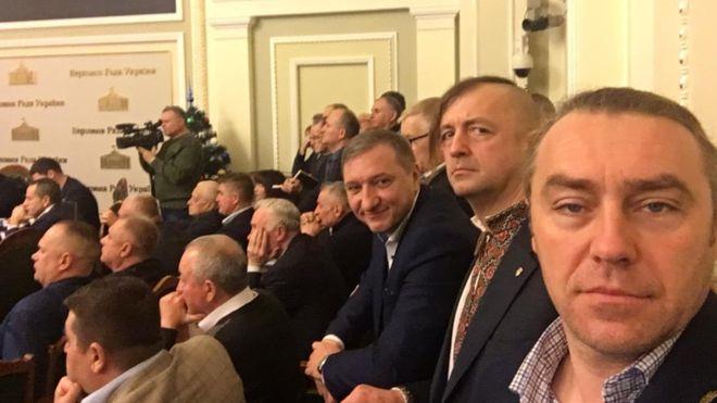 свободівці Кайда, Леонов і Мірошниченко