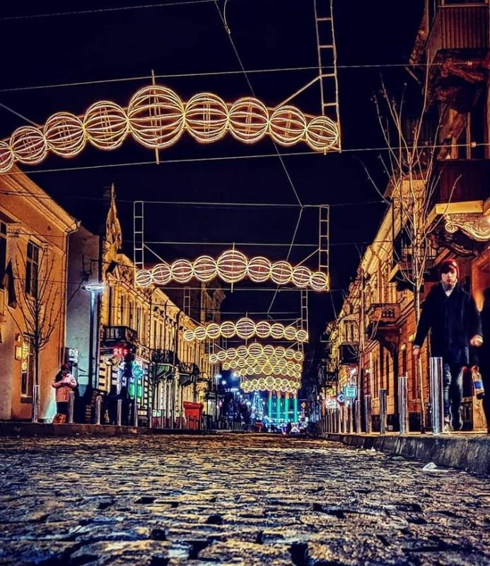фото вечірнього Тернополя