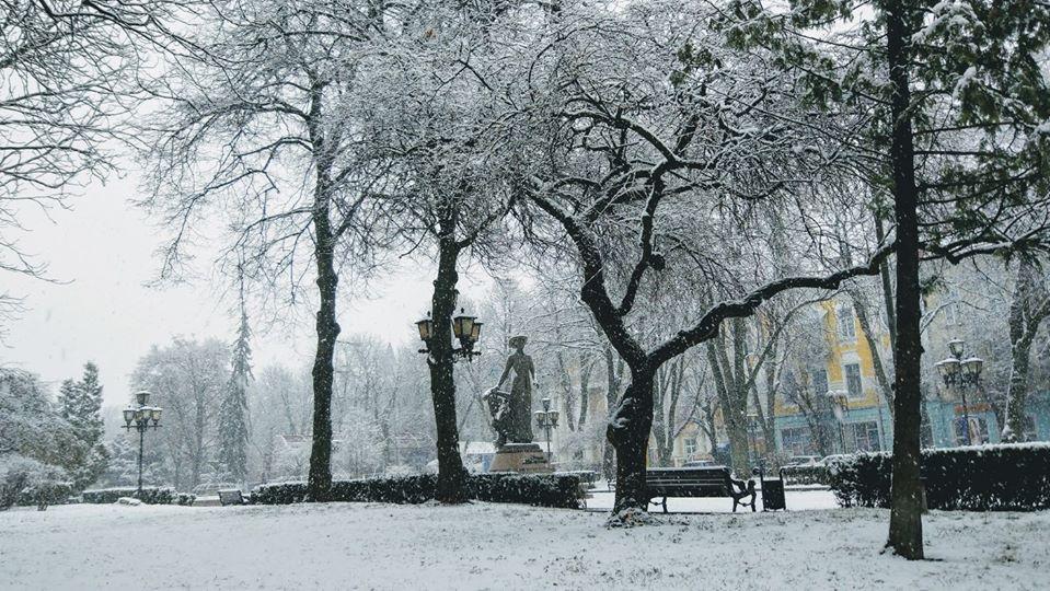 фото Тернополя, зима