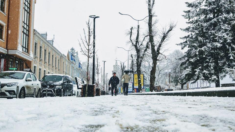 зима у Тернополі