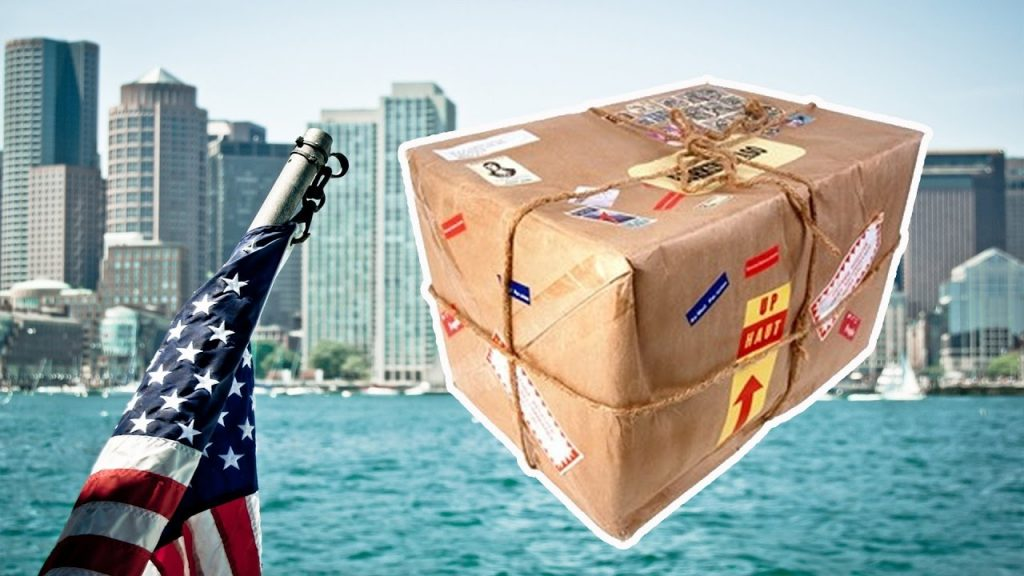 доставка товарі з Америки