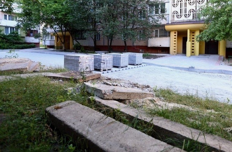 ремонт двору