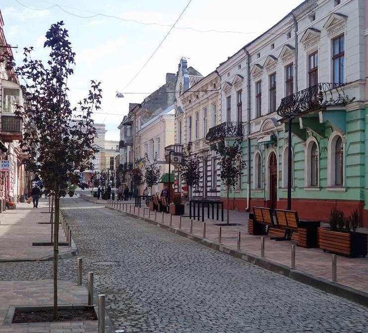 Тернопіль, вул. Чорновола