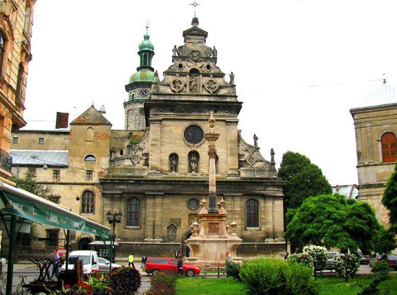 Львів, церква святого Андрія