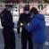 У Тернополі поліцейські роздали захисні маски вірянам, які прийшли на молебень до храмів (ВІДЕО)