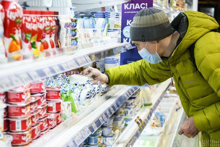 коронавірус в магазині