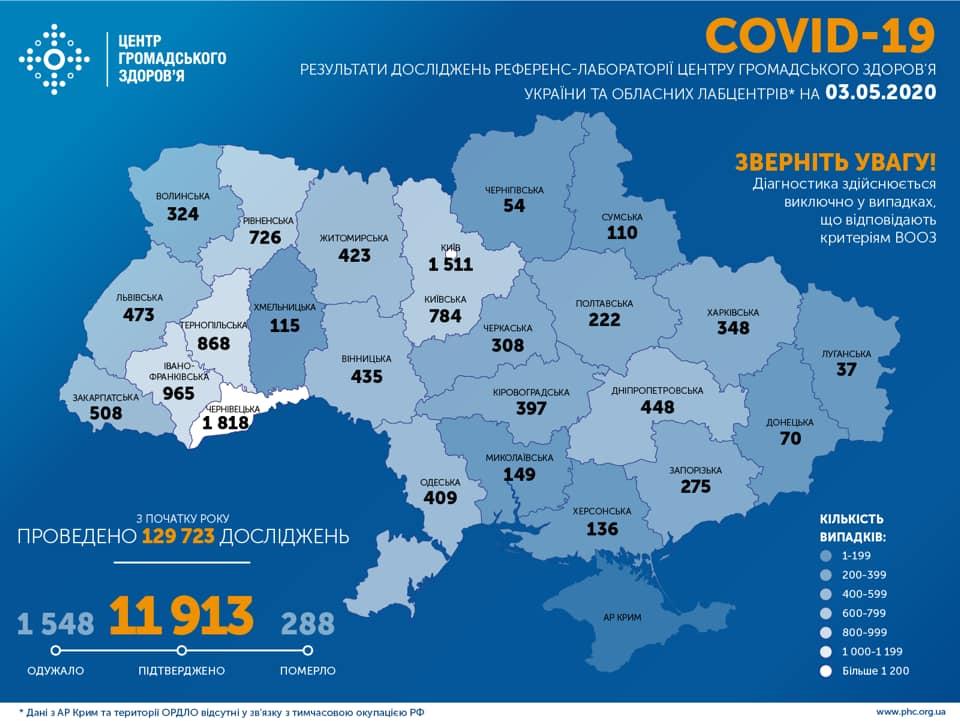 карта вірус 3 травня