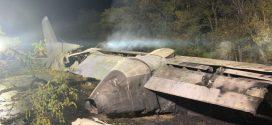 <strong>На Харківщині розбився військовий літак з курсантами. 22 загиблих</strong>