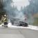 У Польщі автомобіль, у якому їхало п'ятеро українців, згорів дотла (ФОТО)