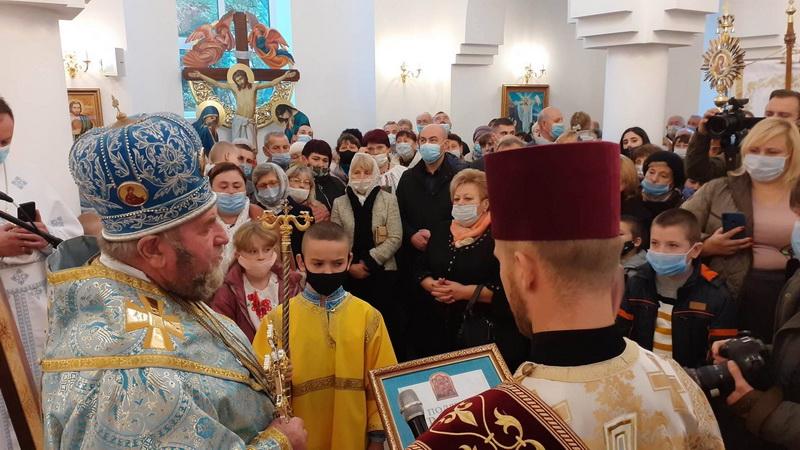 освячення церкви