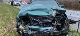 На трасі Київ-Чоп зіткнулися 4 автомобілі. Постраждала сім'я з Кременця (ФОТО)
