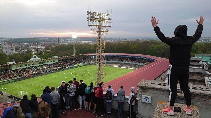 Тернопіль, стадіон