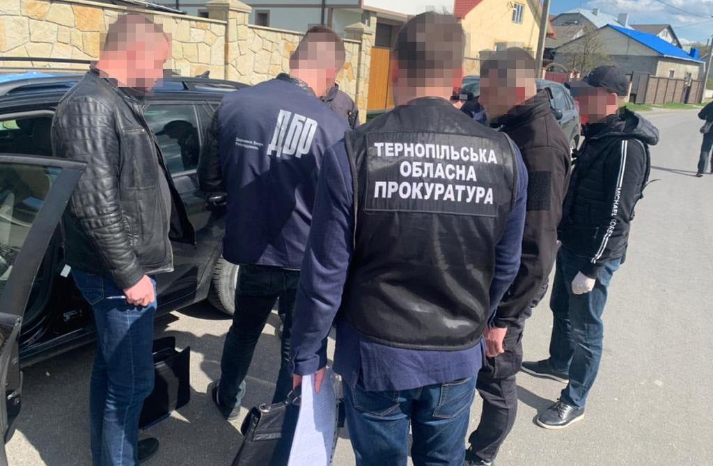хабар, патрульний, новини Тернополя