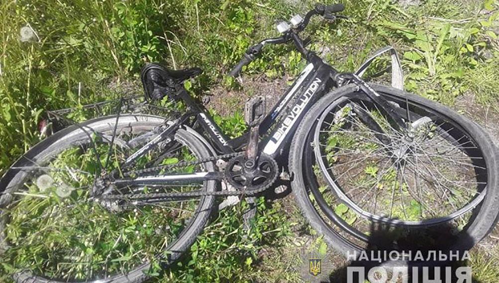 аварія велосипед