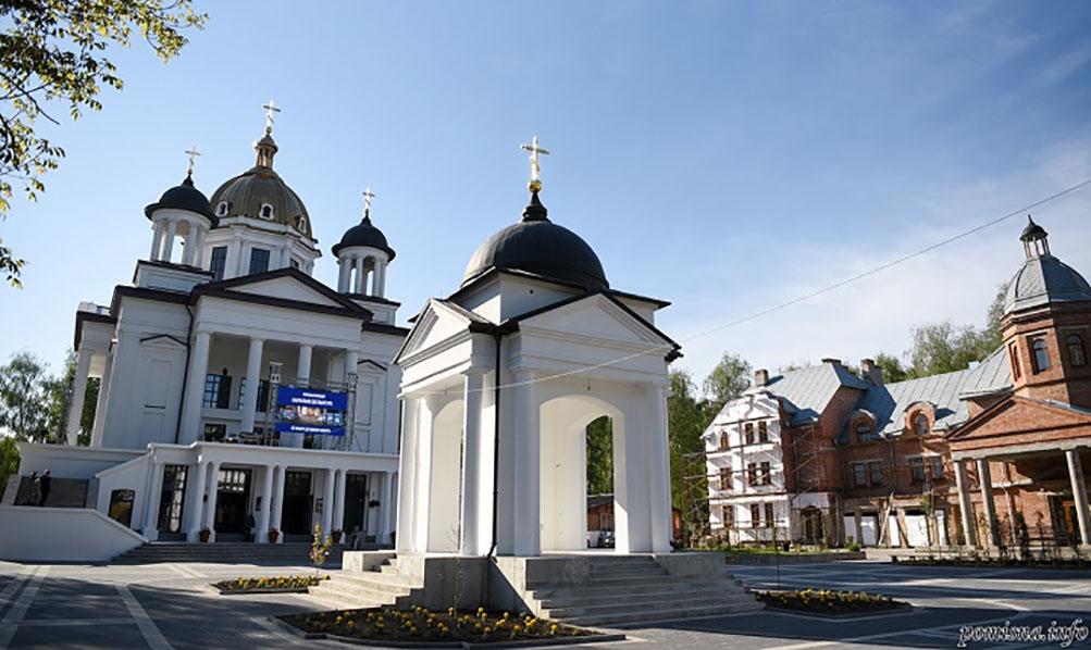 Покровський храм Свято-Троїцького Духовного центру