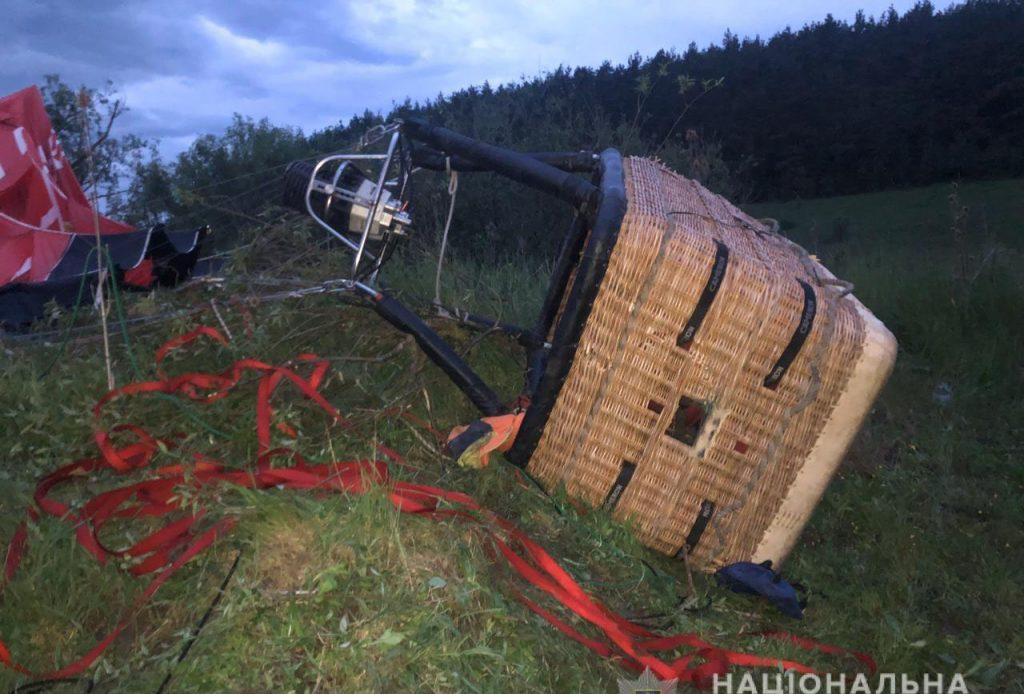 впала повітряна куля, Кам'янець-Подільський