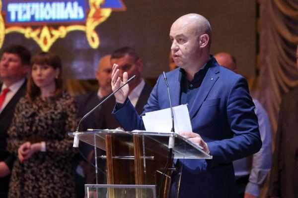 Сергій Надал, мер Тернополя