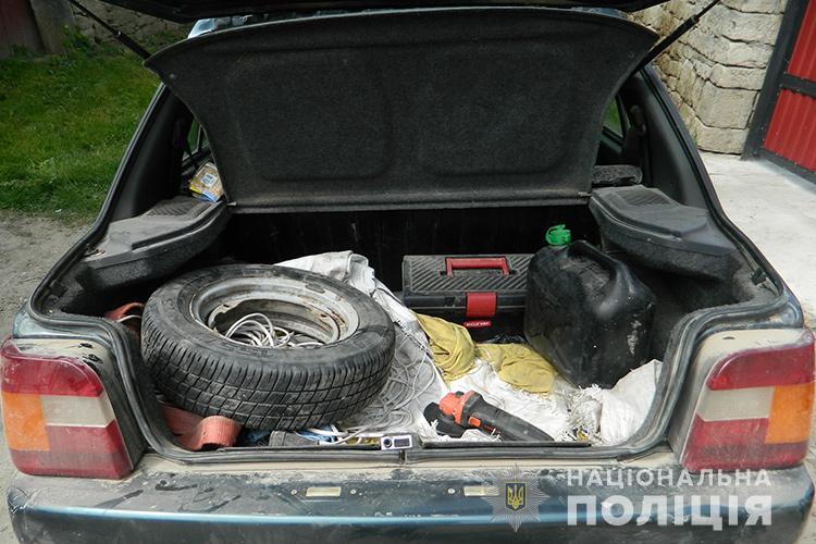 багажник, викрадення чоловіка