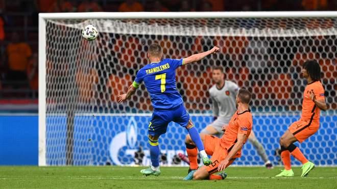 Нідерланди - Україна, гол Андрія Ярмоленка