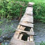 Бучач, місток через річку