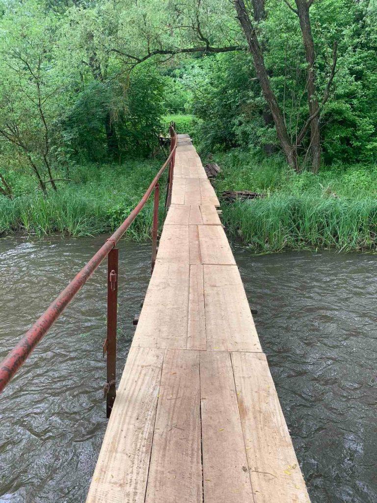Бучач, місток через річку Стрипу