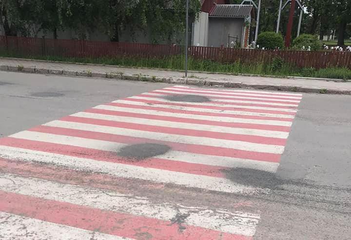 ремонт доріг у Чорткові
