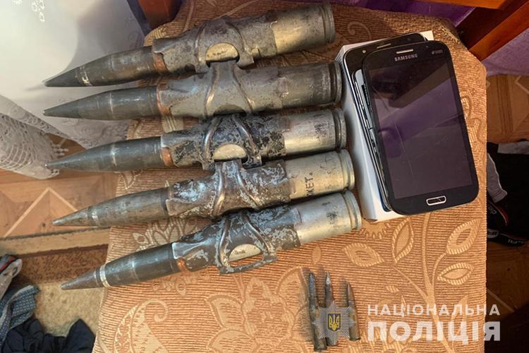 зброя, кримінал, новини Тернопільщини