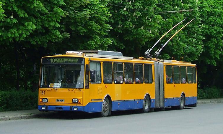 новини Тернополя, тролейбус