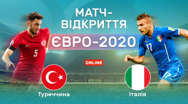 Туреччина - Італія, Євро-2020