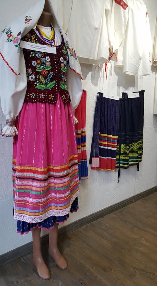 виставка одягу, лемки