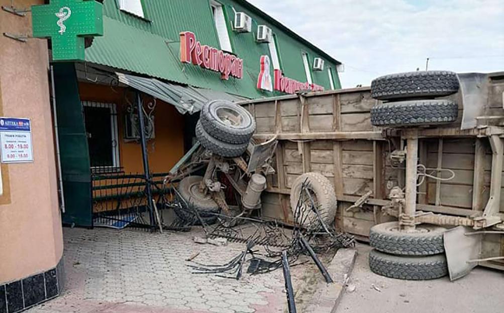 аварія у Бучачі, ресторан Гостинний двір