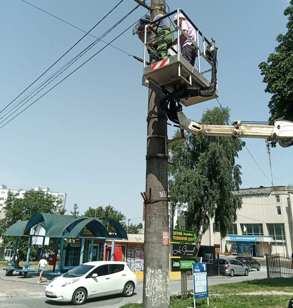 камери відеофіксації, новини Тернополя